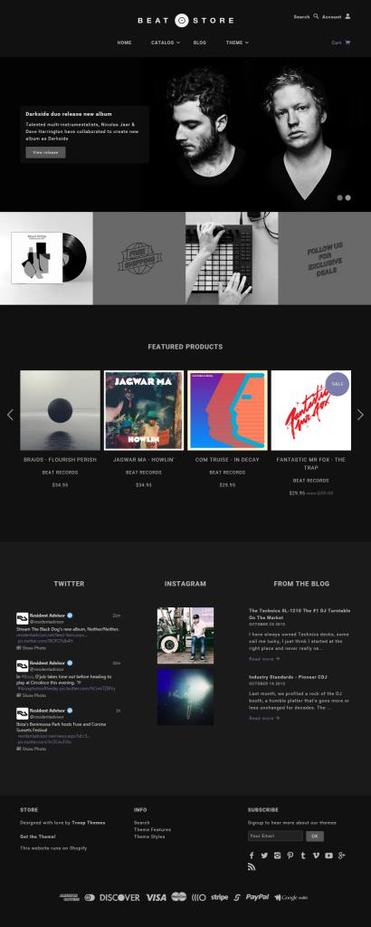 Beat   Blockshop Shopify Theme
