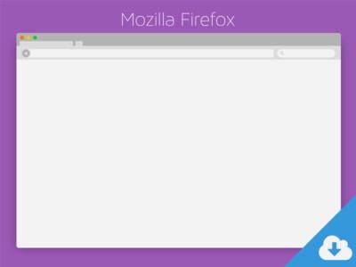 Mozilla-Firefox-PSD