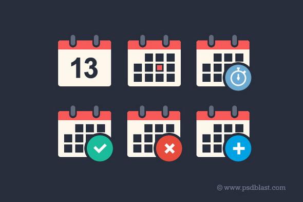 Flat-Calendar-Icon1