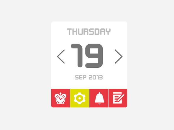 Free-Calendar-UI-Kit