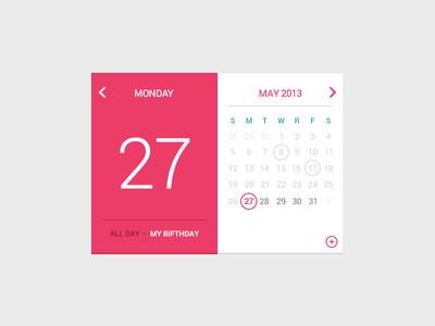 My-Birfday-Calendar