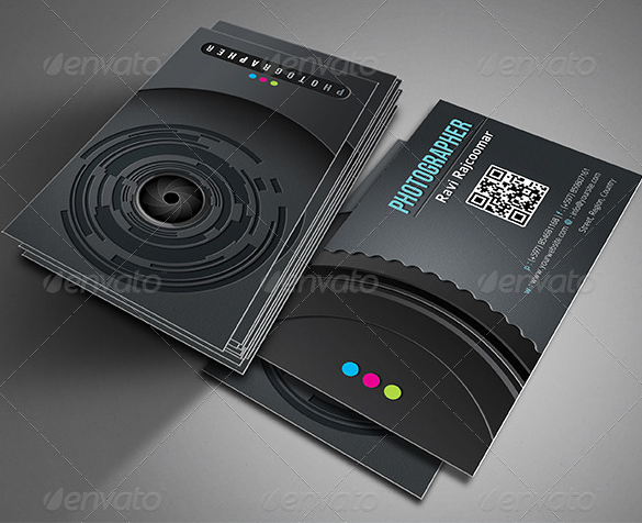Pro Photographer Business Card Free PSD Mockups
