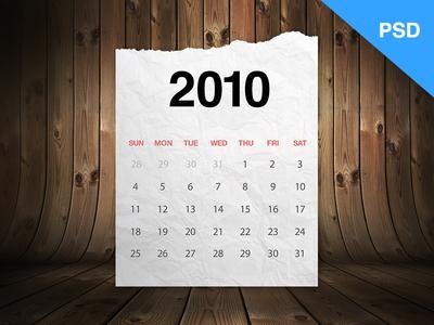 Realistic-Calendar