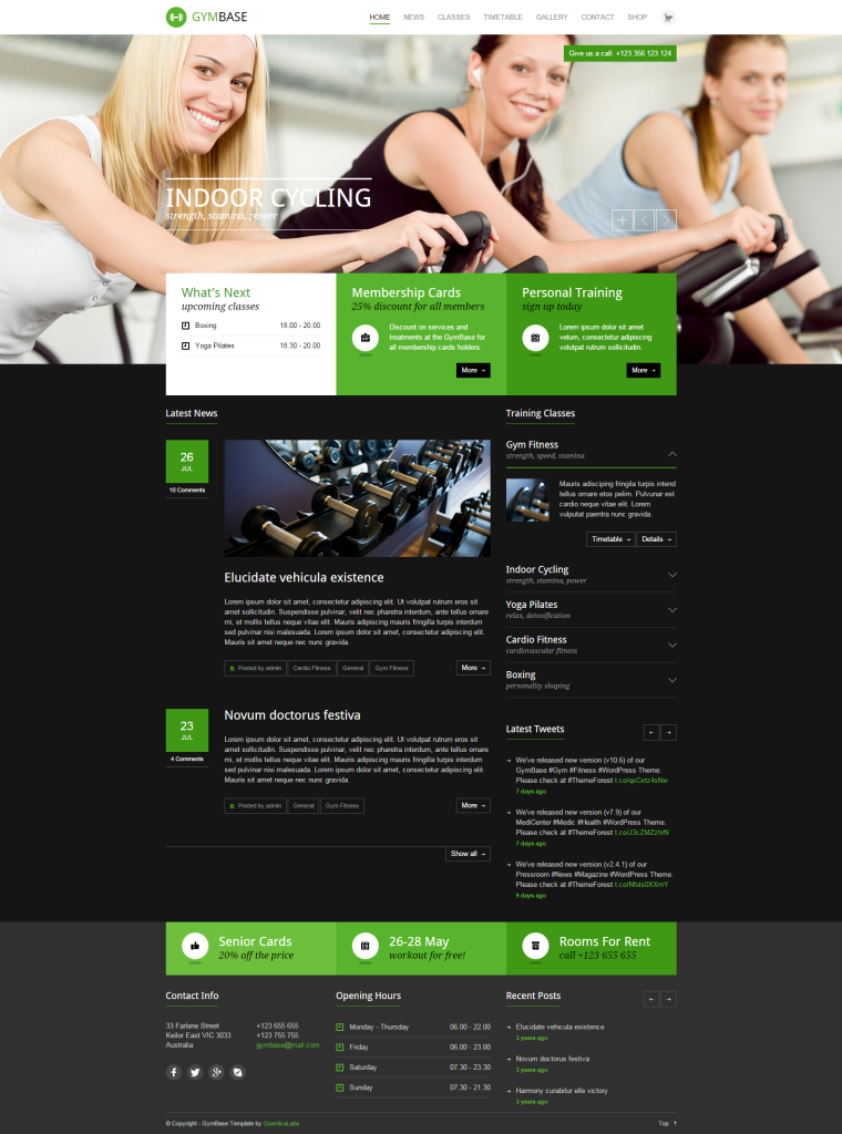 7. GymBase