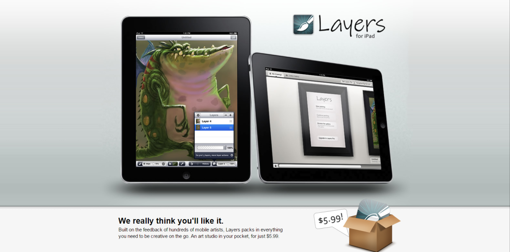 Layers for iPad