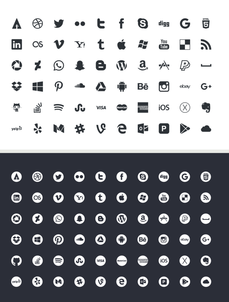 6. Picons Vector Icons