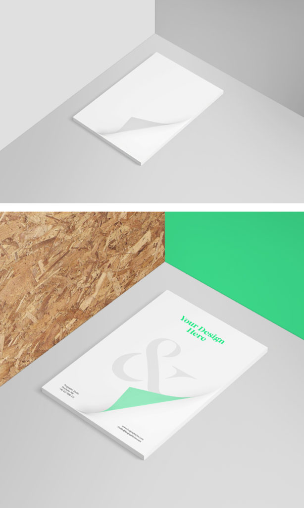 7. Letterhead Mock-Up